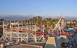 SantaCruz BeachBoardwalk GiantDipperTrack2 DSCN9390.JPG