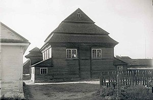 Sapotskin - Synagogue in 1936.