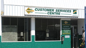 Customer Service center at 23d Street downtown...