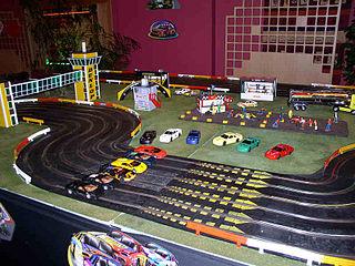 Scalextric Slot car racing brand