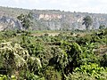 Scenery Approaching Gokteik Viaduct - Train from Pyin Oo Lwin to Hsipaw - Myanmar (Burma) (12220083235).jpg
