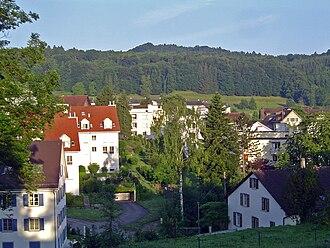 Urdorf - Image: Schäfliwiese von Osten 2008
