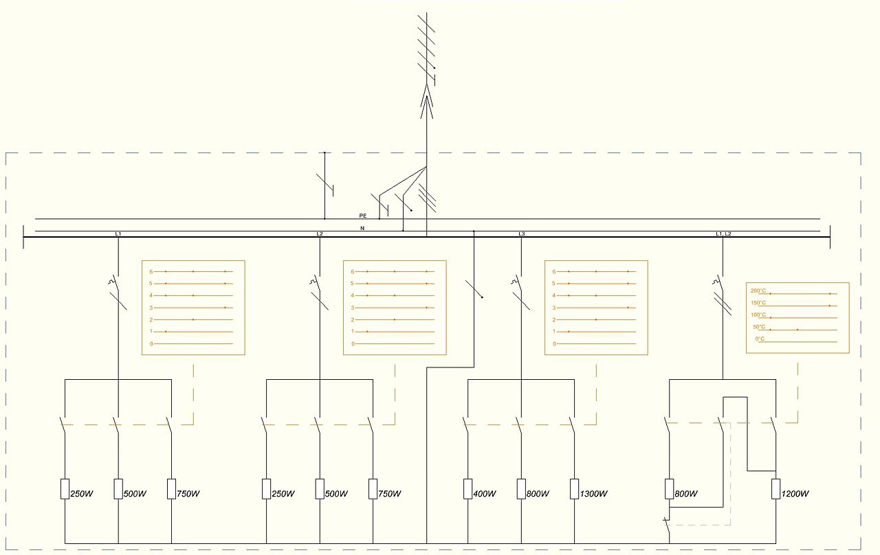Fileschematic Wiring Diagram Of Electrical Stove Wikimedia Schematic Diagrams