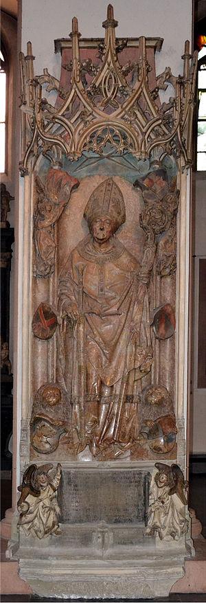 Rudolf von Scherenberg - entire tomb