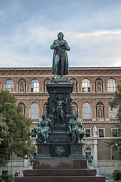 Monument on Schillerplatz in Vienna (Source: Wikimedia)