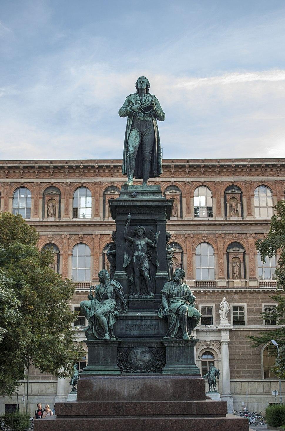 Schiller monument, Vienna