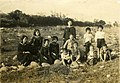 School girls and children at the Nakaminato River Byōritsu.jpg