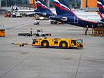 Schopf pushback vehicle at Sheremetyevo International Airport pic4.JPG