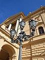 Schwerin Mecklenburgisches Staatstheater Straßenlampe 2013-08-12 7.JPG