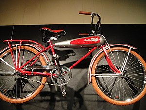 Schwinn Bicycle Company - Schwinn AeroCycle in Longmont Museum & Cultural Center