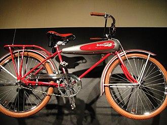 Schwinn Bicycle Company - Schwinn AeroCycle in Longmont Museum & Cultural Center