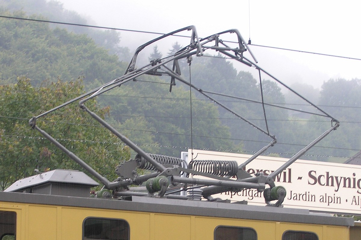 Pantograph Transport Wikipedia 2 Way Lighting Circuit Wiring Diagram Uk