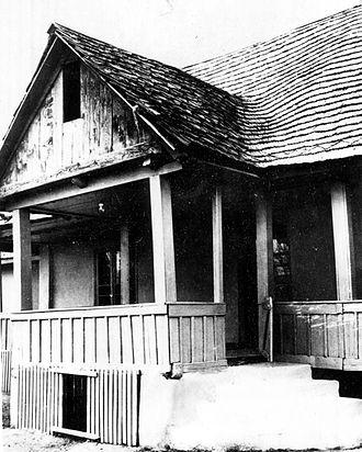 Scornicești - The house in which Nicolae Ceaușescu was born in 1918