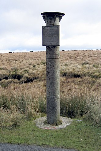 Winter Hill (North West England) - Scotsman's Stump