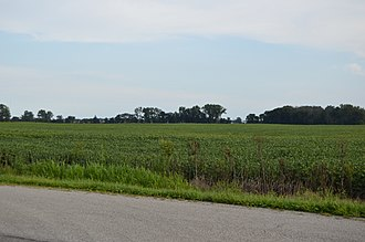 Scott Township, Marion County, Ohio - Fields northwest of Kirkpatrick