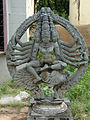 Sculpture in Someshvara temple at Mulbagal.JPG