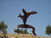 Sculpture road in Hatzerim (2).jpg