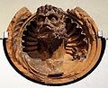 Scultore lombardo, medaglione con busto virile di imperatore o altra figura emblematica, 1485 circa, dal banco mediceo a milano 03.JPG