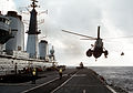 Sea King AEW over HMS Invincible (R05) 1992.JPEG