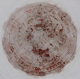 Ferdinand III, Holy Roman Emperor - Seal of Ferdinand III.