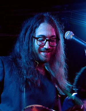 Sean Lennon - Lennon playing at The Saint in Asbury Park, New Jersey, with his band, The Ghost of a Saber Tooth Tiger, September 2013