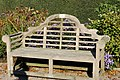 Seat in the Walled Garden, Threave (geograph 5936103).jpg