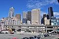 Seattle - Downtown skyline from Colman Dock (WSF) 01.jpg
