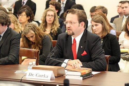 Sebastian Gorka Congress Testimony