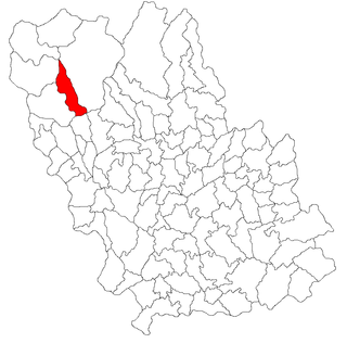 Secăria Commune in Prahova County, Romania