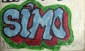 Second Culture, Good Vibrations, and Writings on the Wall : Hip-Hop in the GDR as a Case of Afro-Americanophilia Figure 1 : Simo. I'm a Subway Writer.png
