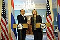 Secretary Clinton Delivers Remarks With Thai Foreign Minister Tovichakchaikul (7370490404).jpg