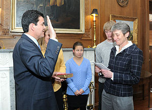 Michael L. Connor - Secretary of the Interior Sally Jewell Swearing In Deputy Secretary Michael L. Connor