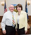 Secretary Perdue meets with U.S. Representative Cathy McMorris Rodgers 20170612-OSEC-LSC-0005 (34417701074).jpg