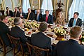 Secretary Pompeo Participates in a Working Breakfast with President Trump and Secretary General Stoltenberg (49162973986).jpg