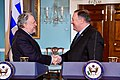 Secretary Pompeo Shakes Hands With Greek Acting Minister of Foreign Affairs Katrougalos (45393019055).jpg