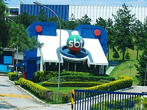 Grupo Silvio Santos - Input of CDT da Anhanguera of the SBT, the second largest television complex in Brazil, behind of Projac