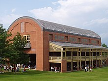 Description de l'image  Seiji Ozawa Hall (exterior), Tanglewood, Lenox, Massachusetts.JPG.