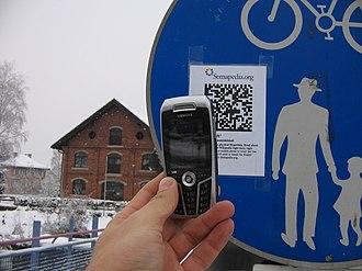 Data Matrix - Reading Data Matrix code with mobile phone (Semacode project)