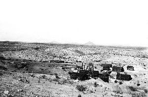 Twin Buttes, Pima County, Arizona - Image: Senator Morgan Mine Pima County Arizona 1920