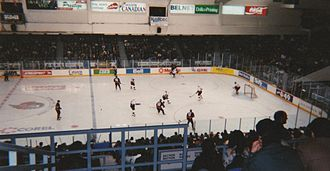 TD Place Arena - The NHL Ottawa Senators played in the arena from 1992 to 1996