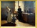 Senlis (60), musée d'art et d'archéologie, Édouard Gelhay, Aux enfants assistés - L'abandon (1886).jpg