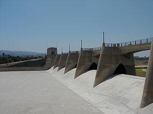 Sepulveda Dam - Image: Sepulvedadam