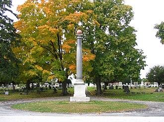 Seth Pomeroy - Seth Pomeroy monument