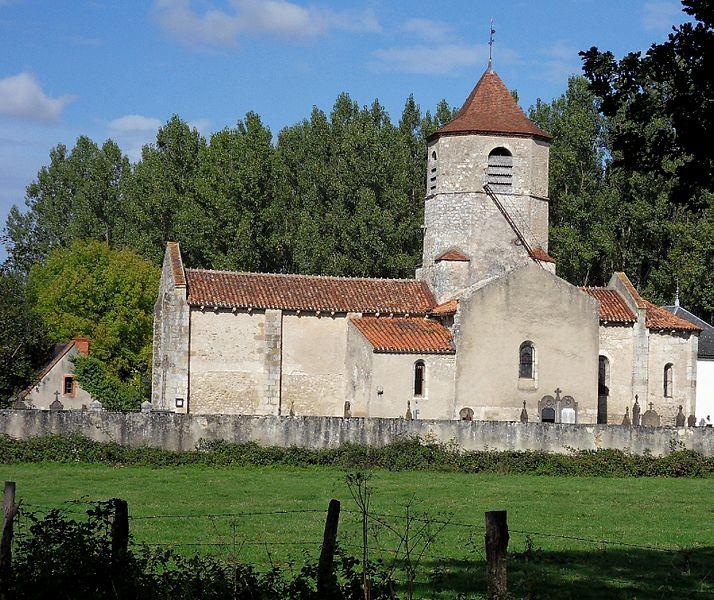 Église Saint-Martial,  (Classé, 1945)
