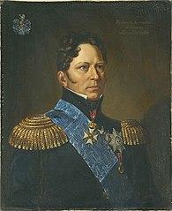 Portrait of Severin Løvenskiold