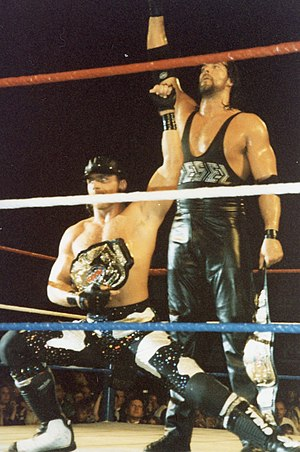 Shawn Michaels - Diesel acted as Michaels's on-air bodyguard and tag team partner for two championship reigns