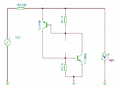 Shockley Diode equivalent circuit simulation - without z-diode.PNG