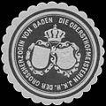 Siegelmarke Die Obersthofmeisterin Ihrer Königlichen Hoheit der Grossherzogin von Baden W0350208.jpg