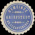 Siegelmarke Gemeinde Griefstedt Kreis Eckartsberga W0383045.jpg