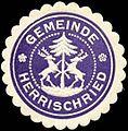 Siegelmarke Gemeinde Herrischried W0313191.jpg